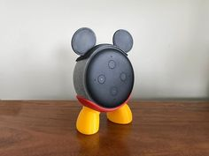 Mickey Mouse House, Mickey Mouse Outfit, Amazon Dot, Amazon Echo, Biodegradable Plastic, Biodegradable Products, Disney Fan, Disney Rooms, Pink Minnie