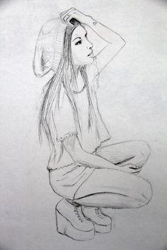 drawings easy drawing pencil sketches cool beginners sad amazing teenage