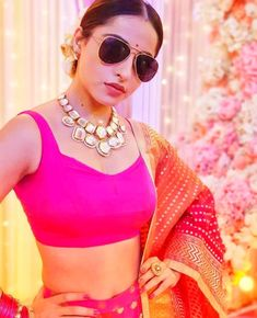 💕ya she seems delicate. I know. But she has strong storm inside. Sea Photo, Lehenga, Round Sunglasses, Delicate, Celebs, Actresses, Actors, Crop Tops, Pretty