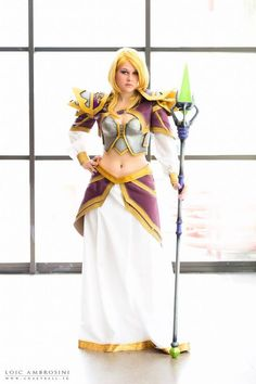 Jaina Proudmoore by KoniCosplay on DeviantArt Jaina Proudmoore, World Of Warcraft 3, Sci Fi Games, Cosplay Costumes, Cosplay Ideas, Fantasy Heroes, Heroes Of The Storm, Cosplay Characters, Pose Reference