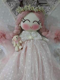 Cute baby  doll  bebek kapi süsü :) Melegineli atölye