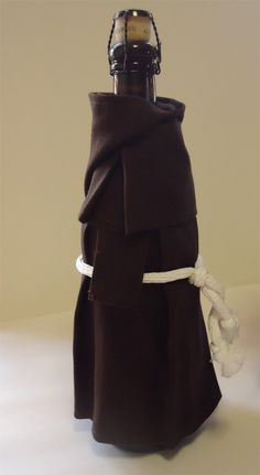 Wine Monk Wine Bottle Cover Costume and Unique Gift от WineMonk
