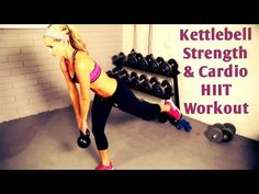 25 Minute Kettlebell HIIT Workout with Kettlebell Exercises for Strength and Fat Burning - YouTube
