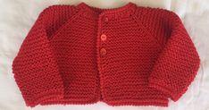 REBECA DE HILO ROJO PRIMERA POSTURA Materiales Hilo rojo 100% algodón Agujas de punto del nº 4 Agujas de crochet del nº 2,5 3... Baby Knitting Patterns, Free Knitting, Knit Crochet, Men Sweater, Lily, Beige, Children, Sweaters, Fashion