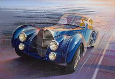 "Paul Bracq: ""Bugatti Atlantic S,"""