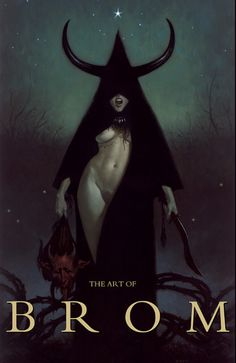 The Art of Brom Cover