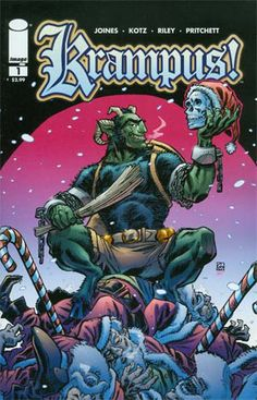 NEW COMIC DAY TOMORROW, OUR PICKS: KRAMPUS #1