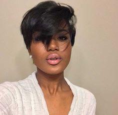 22.Black Girl Short Hair