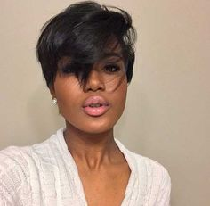 22.Black Girl Short Hair