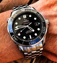 Omega Seamaster Diver 300m #majordor #omegawatches #omegaseamaster #luxurywatches
