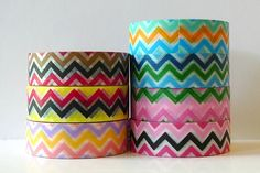 Chinese rendition of washi tape (Chugoku =  Chinese) in Horizontal Line Stripe pattern. This paper tape is recommended for gift wrapping, packaging,  general decorative use, but I would not recommend it for things that  need archival quality. While in my opinion,Japanese Washi Tapeare higher quality, people have expressed interest in these for the pattern/colors that might not be available in the ones...