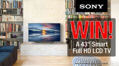 "#Sony 43"" Smart Full HD LCD TV competition - Winner: Catherine Thompson"