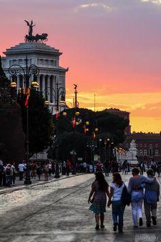 Piazza Venezia - Rome, Italy