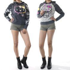 ebclo - Hello Kitty Earphone Hoodie $27.00 Free Domestic Shipping