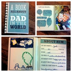 from baby to dad ~ 10 homemade father's day gift ideas | - change to mom ideas?