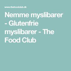 Nemme myslibarer - Glutenfrie myslibarer - The Food Club