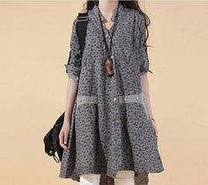 The new pure floral dress female Korean literary V by Famousstruck, $65.99