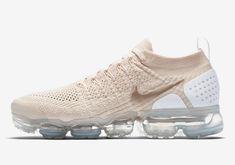b51ebb4ae0ae6 Nike Air Vapormax Flyknit 2 Light Cream White Metallic Gold Official  Sneaker Nike Vapormax Flyknit