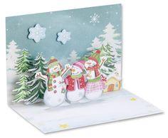 3D Popup-Karten zu Weihnachten - mehr unter http://www.folia.de/epaper/folia_neuheitenkatalog_2016_2/catalog_7779151/#/14