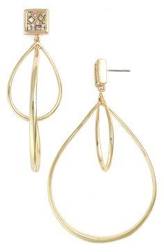 Alexis Bittar 'Miss Havisham' Crystal Pave Drop Earrings