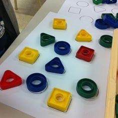 Rond, carré, triangle - Le blog de la maternelle Freinet