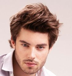 Cool Simple Hairstyles For Men Medium Hair Check more at http://mensfadehaircut.com/simple-hairstyles-for-men-medium-hair/
