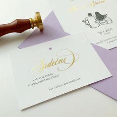 Jednoduchý dizajn s digitálnou ražbou pre rodinku Aďky a Petra :)   Dizajn: @sisine.sk Tlač: @vach.print @svadobne.tlacoviny Petra, Place Cards, Place Card Holders