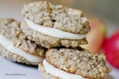 Caramel Apple Sandwich Cookies | www.DessertedPlanet.com