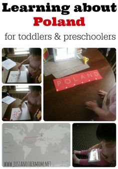 Learn about Poland in this fun mini unit for toddlers and preschoolers.