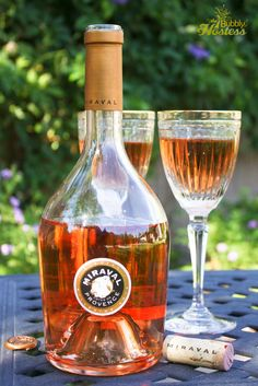 Congratulations Brangelina!  Loving Your 2012 Miraval Rosé! | The Bubbly Hostess
