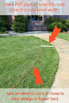 Front Yard Garden Design Tips for Preparing a New Flower Bed - Sand and Sisal - Whether you are planning garden beds, big or small, you will find these tips for preparing a new flower bed easy and helpful. Front House Landscaping, Landscaping With Rocks, Outdoor Landscaping, Landscaping Ideas, Garden Yard Ideas, Lawn And Garden, Garden Beds, Landscape Arquitecture, Flower Bed Designs