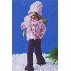 Materials: Slacks 1, jacket 1, cap small quantity, scarf ½ Patons 5 ply Bluebell 25g balls; 1 pair 3.75 (No 9) Milward or Patons Beehive knitting needles; length of elastic for slacks; 4 buttons and 4 press studs for jacket; Milward knitter's needle to sew seams.