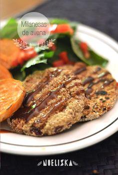 Recetas Veganas: Milanesas de avena