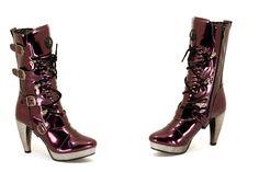 New Rock Boots - 5373 - Purple