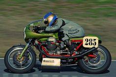 Ken nemoto moto guzzi racer