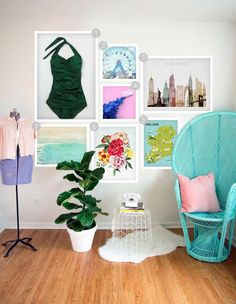 "A ""Brooklyn"" Inspired Gallery Wall"