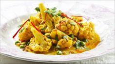 Blomkål i curry og kokos - Det som er sunt i den ene dietten kan være helt krise i en annen.