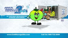 Cold Storage 2 GO Informational Video Shipping Container Restaurant, Storage Containers, Cold, Storage Bins