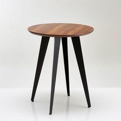 Table Oqui extensible ovale 120-200 cm, naturel et blanc   Extensions
