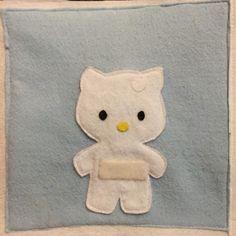Quiet book: Hello Kitty Dress up