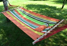 Hammock pre dvoch oranžový s vankúšom Outdoor Furniture, Outdoor Decor, Hammock, Hammocks, Yard Furniture