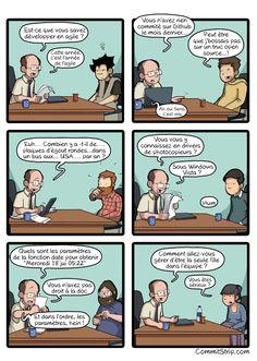Les questions qu'il ne faut pas poser en entretien avec un codeur   CommitStrip