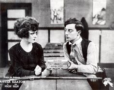 Buster Keaton 'The High Sign' 1921