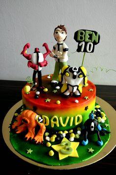 TORT BEN 10 (ben 10 cake)
