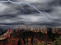 Grand Canyon Lightning by cliffordpugliese
