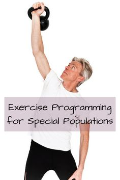 """Covering 8 """"special population groups,"""" our exercise programming guide will help you to modify your exercise recommendations and guidelines. Losing Weight After 40, Lose Weight, Exercise Recommendations, Cancer Screening Tests, Health Tips, Health And Wellness, Alcohol Is A Drug, Email Subject Lines, Body Tissues"""