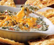 Tastes just as good or better! Secret Recipes - Kelsey's 4 Cheese Spinach Dip