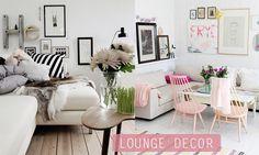 Lounge decor- thinking of adding a little black