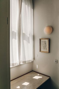 Light through window Finn Juhl's House Copenhagen