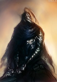 Dark Souls: fan art do cavaleiro Artorias, the Abysswalker